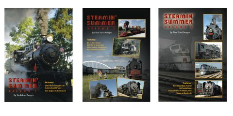 The specially priced Steamin' Summer COMBO from Yard Goat Images